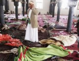 Mosque blown up while Muslims cursing Jews