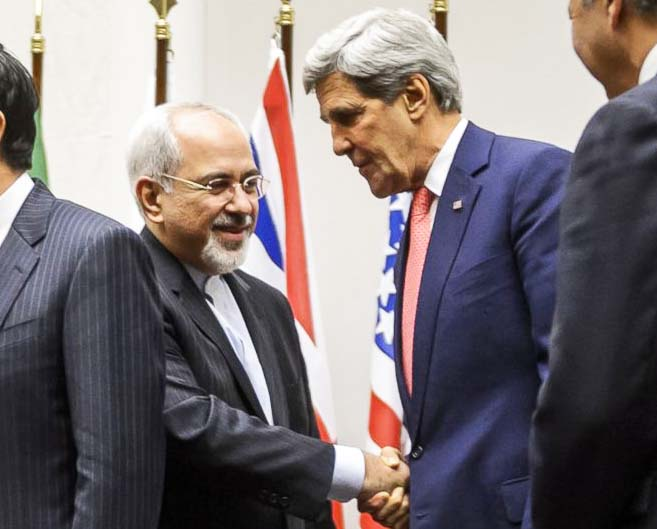 John Kerry prefere a deal with Iran's Foreign Minister Mohammad Javad Zarif