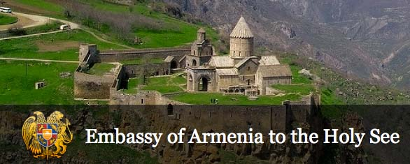The Vatican has good relations with the republic of Armenia.