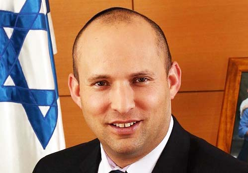 Naftali Bennet refuses to compromise with the forces of evil, and hand over more Jewish land to the enemy.