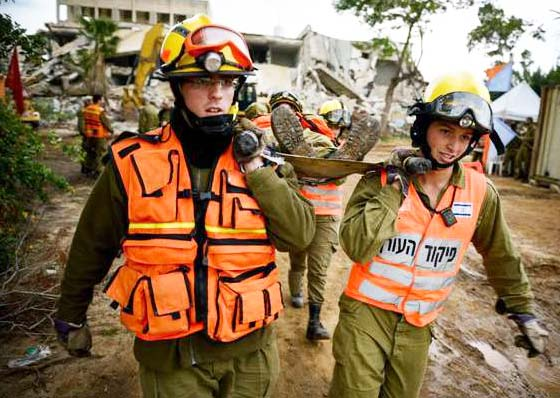 The state of Israel has sent their best men and women to help the Nepalese.