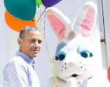 The Easter bunny of the Obama's