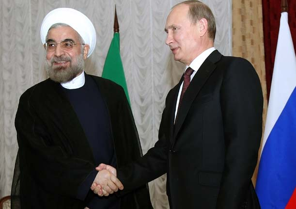 Vladimir Putin support the Ayatollah regime with Russias most advanced weapons.