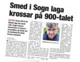 "Kjøp boka ""Josvateiknet"" om tidleg kristen tru iNorge"