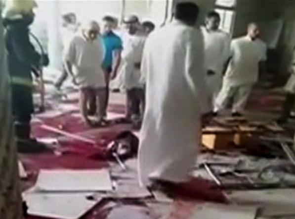 20 Saudis praying to