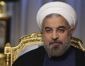 Presiident Hassan Rouhani is the head of amn Islamic republic that supports terrorism.