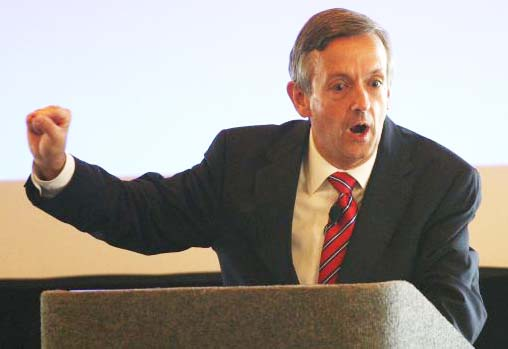 Pastor Robert Jeffress kepts on telling the truth from the pulpit.