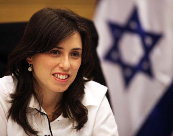 Foreign Minister Tzipi Hotovely spoils the party for all claimed friends of Israel who rejects the word of God.