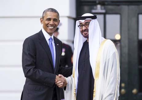 Obama tried to rally Crown Prince Sheikh Mohammed bin Zayed of Adu Dhabi to fight ISIL, at Camp David summit.