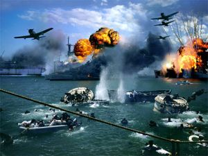 The attack on Pearl Harbor in December 1941 can now be copyed in Los Angeles.