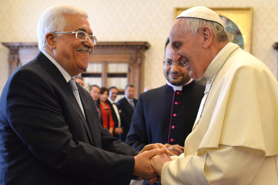 The PLO leader and the Vatican has agree to secure that the mountains of Zion will become Jew-free.
