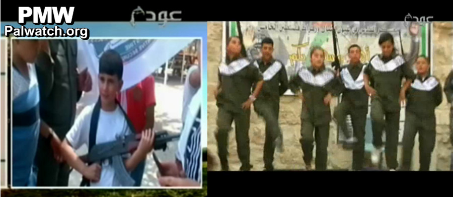 The PLO (al-Fatah) is an islamic terror organization. Their youth are being indoctrinated for Jihad.