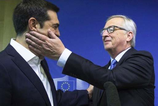 Some time back Junker hugged Alexis Tsipras. Now he calls the Greek leader a traitor of the European Union.