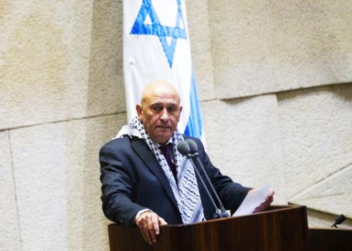 Joint Arab List MK Bassel Ghattas is a fith columnist inside the state of Israel.