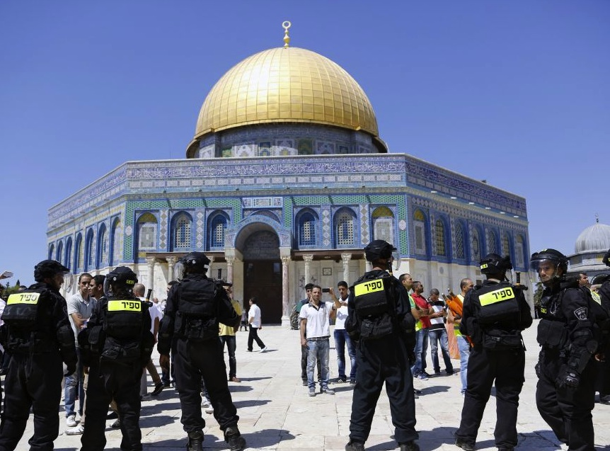 The Temple Mount will be the place of the last battle between good and evil.