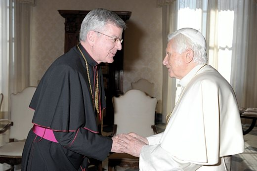 Archbishop John Nienstedt has been blessed and supported by the Papacy for decades.