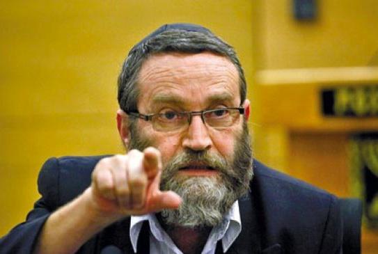 Knesset Finance Committee chairman Moshe Gafni persecute Jews who believe Yeshua is the Messiah.