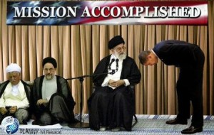 The US president has a tendency to bow and surrender before totalitarian Muslim leaders.