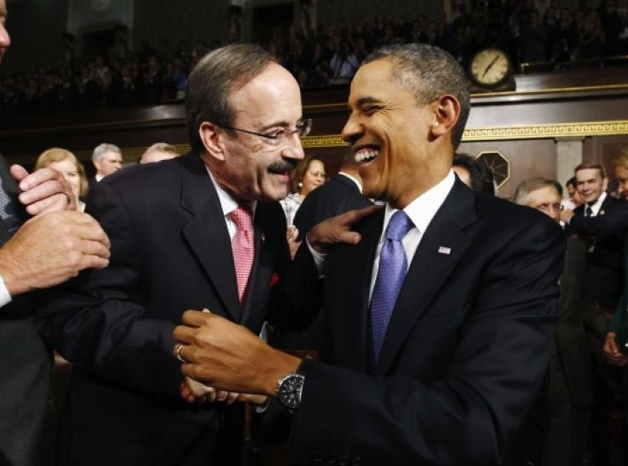 Eliot Engel claims Obama is strengtening a destructive Iranian regime.