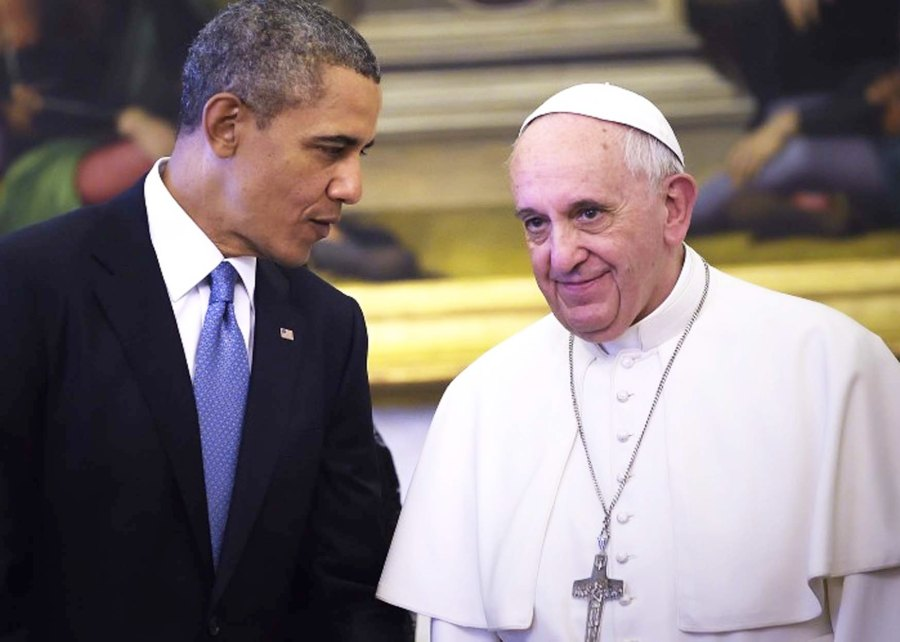 The Pope and Obama both work for the deal that will gift 100 billion USD to the Ayatollah regime.
