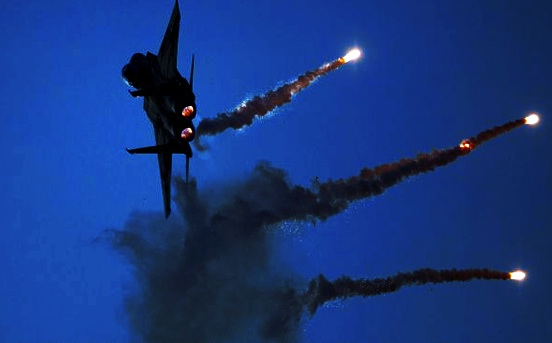 The Israeli airforce can strike inside Syria at its own time of convenience.