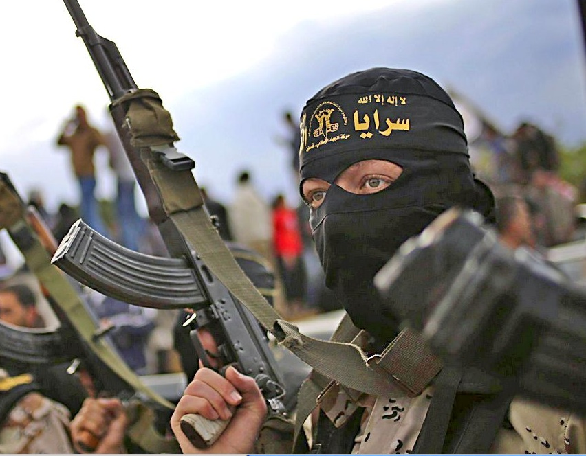 Islamic terrorists are using weapons gifted by the USD in their Jihad in Syria and Iraq.