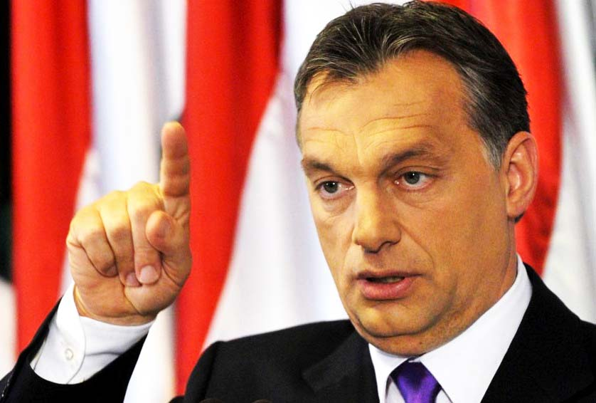 Viktor Orban warns about Europe not being able to handle the refugeee crisis.