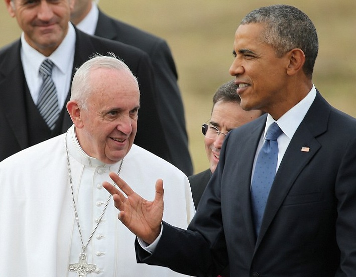 The Pope and Obama seems to agree on must issues. Arte they the new dream team?