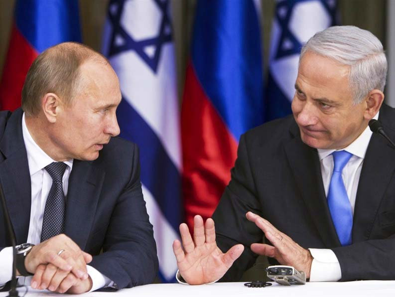 Netanyahu wants to put the breaks on Putin, to avoid advanced weapons being gifted to HisbAllah.