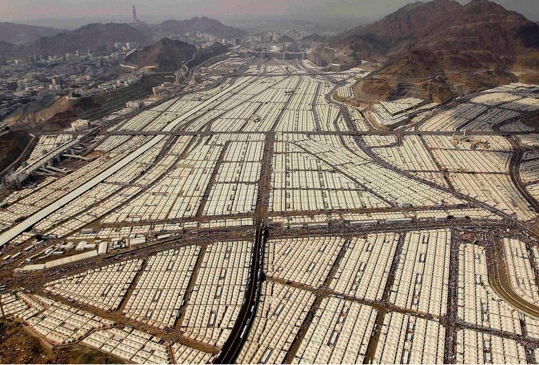 Three million Syrians coulld have been given shelter in this camp in Mecca.