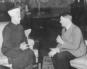 The leaders of the Muslims in Jerusalem and Hitler wanted to see all Jews dead.
