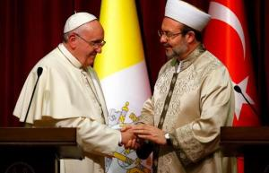 The Vatican has made peace with all nations who works for the Islamic reoccupation of Jerusalem.
