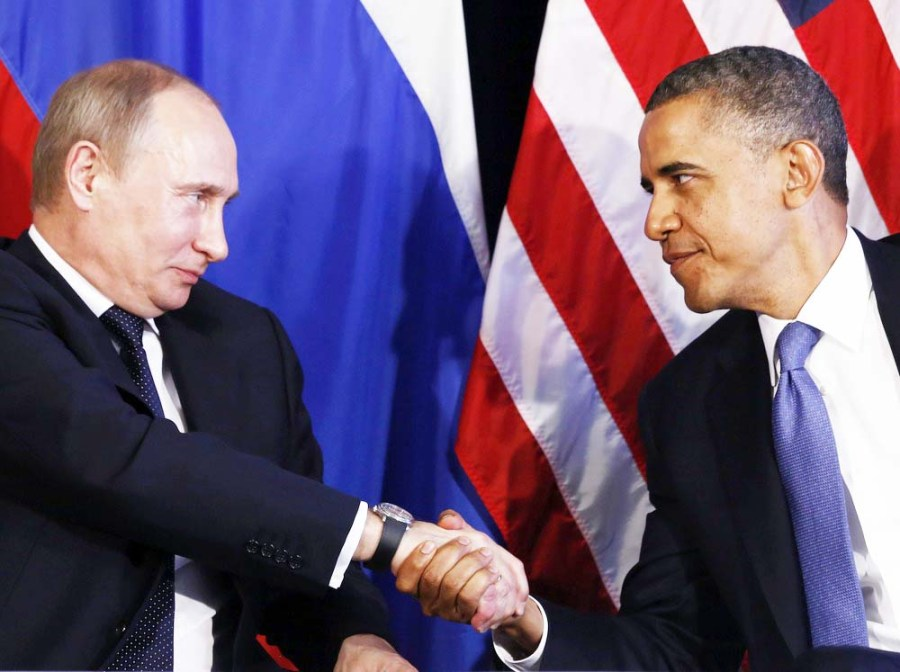 Putin and Obama agree that only the Syrians and Muslims shall die in the battle for Damascus.