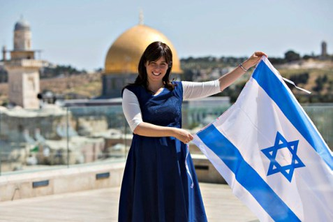 The Israeli Deputy Foreign minister want to hoist the Israeli flag on the Temple Mount.