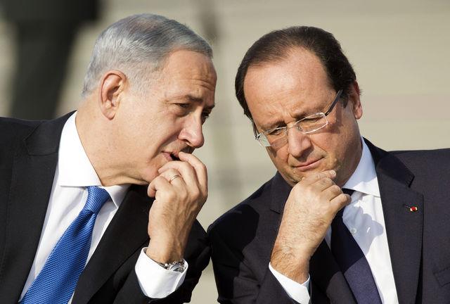 ISRAEL-FRANCE-DIPLOMACY-PRESIDENT