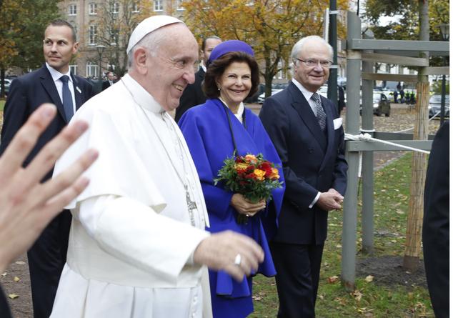 Sweden Pope
