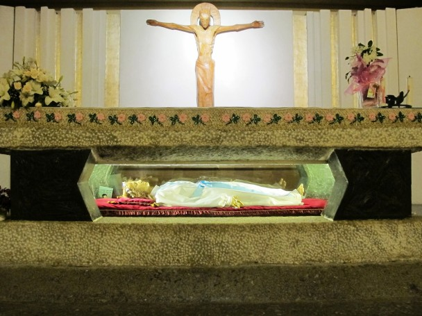 under-altar